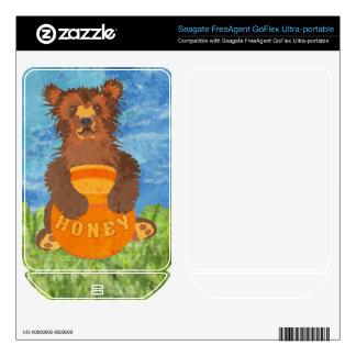 Honey Bear FreeAgent GoFlex Decal