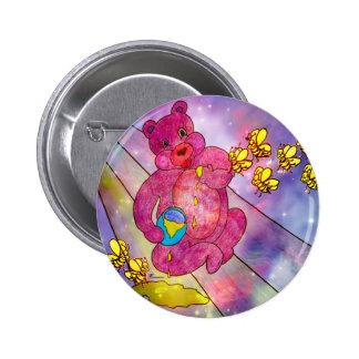 HONEY BEAR.jpg Pinback Button