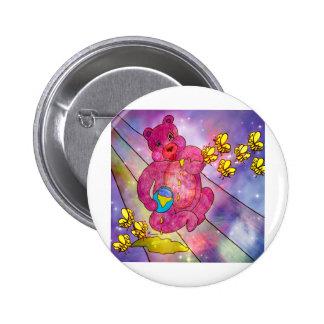 HONEY BEAR.jpg Pinback Buttons