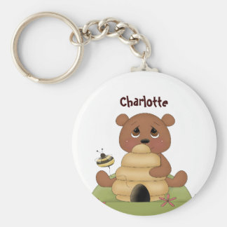 Honey Bear Keychain