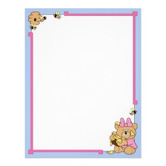 Honey Bear Letterhead