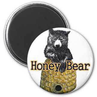 honey bear magnet