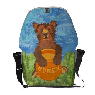 Honey Bear Messenger Bags