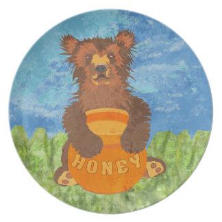 Honey Bear Plates