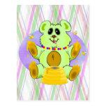 Honey Bear Post Card