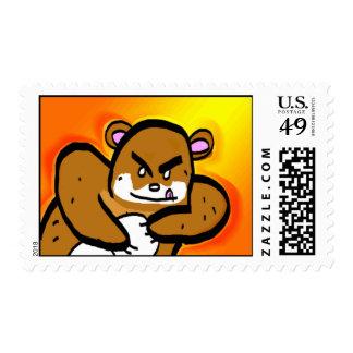 Honey Bear Stamp