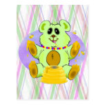 Honey Bear Postcard