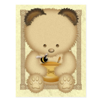 Honey Bear Postcard