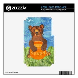Honey Bear Skin For iPod Touch 4G