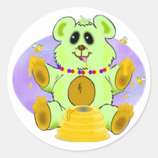 Honey Bear Sticker