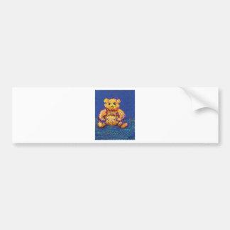 Honey Bear Teddy Bear CricketDiane Cute Bears Bumper Sticker