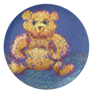 Honey Bear Teddy Bear CricketDiane Cute Bears Party Plates