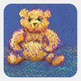 Honey Bear Teddy Bear CricketDiane Cute Bears Square Sticker