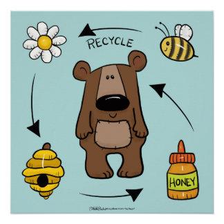Honey Bear- The Recycler Poster