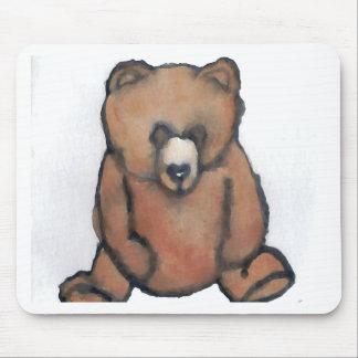Honey Bear Thinking - CricketDiane Designer Stuff Mousepads