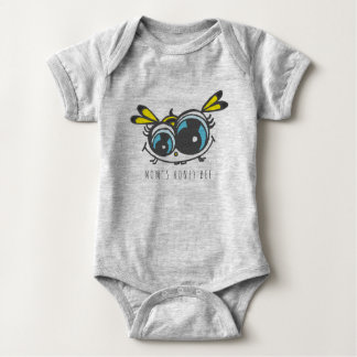 Honey bee baby body suit baby bodysuit
