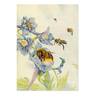 HONEY BEE BASKET TAGS GIFT TAG CARDS BUSINESS BUSINESS CARD