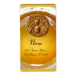 HONEY BEE ,BEEKEEPER / apiary,beekeeping supplies Personalized Shipping Label