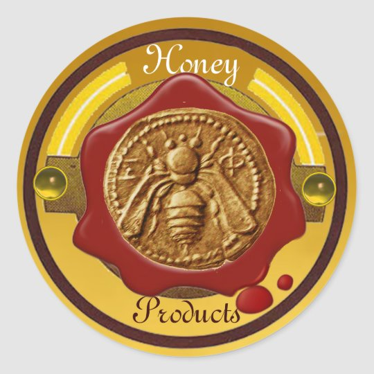 HONEY BEE / BEEKEEPER BEEKEEPING RED WAX SEAL