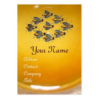 HONEY BEE ,BEEKEEPER /beekeeping supplies Large Business Card