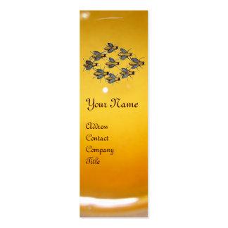 HONEY BEE ,BEEKEEPER /beekeeping supplies Mini Business Card