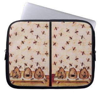 HONEY BEE ,BEEKEEPER COMPUTER SLEEVE