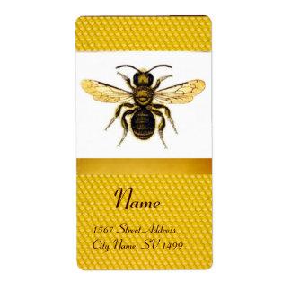HONEY BEE ,BEEKEEPER LABEL