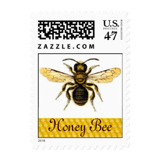 HONEY BEE ,BEEKEEPER POSTAGE STAMP