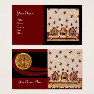 HONEY BEE ,BEEKEEPING, APIARIST BUSINESS CARD