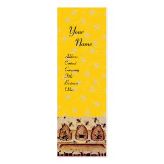 HONEY BEE ,BEEKEEPING,BEEKEEPER APIARIST MINI BUSINESS CARD