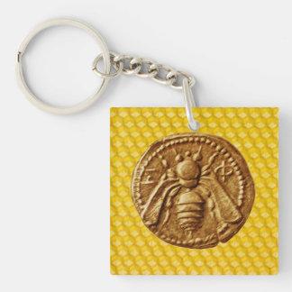 HONEY BEE ,BEEKEEPING,BEEKEEPER KEYCHAIN