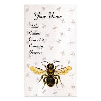 HONEY BEE ,BEEKEEPING,BEEKEEPER White Pearl Paper Business Card