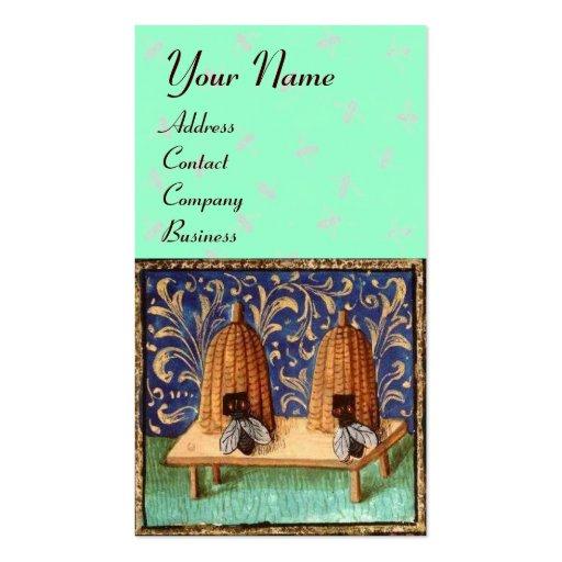 HONEY BEE ,BEEKEEPING, BEEKEPER BUSINESS CARD TEMPLATES
