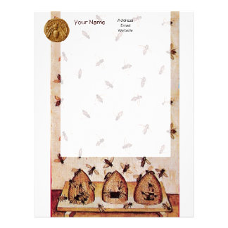 HONEY BEE ,BEEKEEPING LETTERHEAD