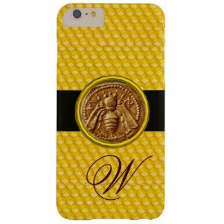 HONEY BEE, BEEKEPER MONOGRAM BARELY THERE iPhone 6 PLUS CASE