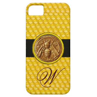 HONEY BEE, BEEKEPER MONOGRAM iPhone SE/5/5s CASE