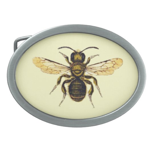 HONEY BEE BELT BUCKLE