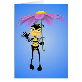 Honey Bee Birthday Card