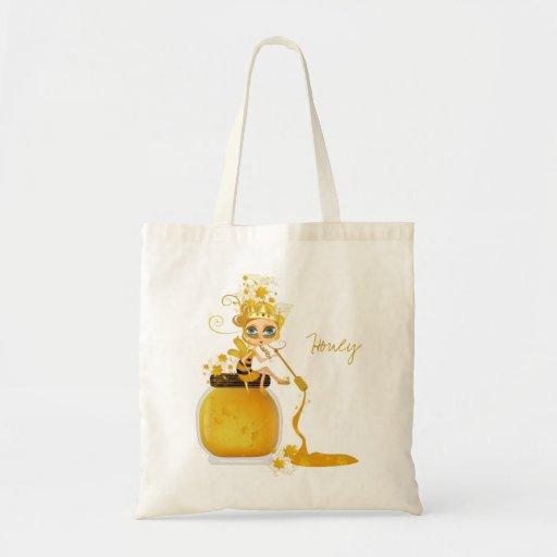 Honey Bee Budget Tote Bag