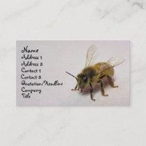 honey bee business card