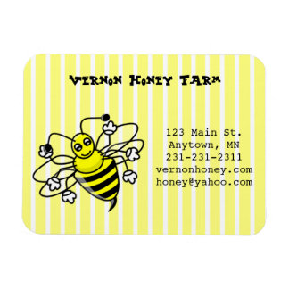 Honey Bee Business Card Magnet