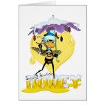 Honey Bee Christmas Card - Cute Honey Bee