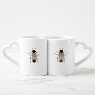 Honey bee coffee mug set