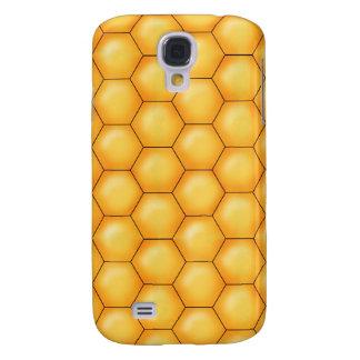 honey bee comb texture samsung galaxy s4 case