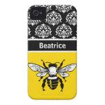 Honey Bee Custom Case-Mate iPhone 4 Case