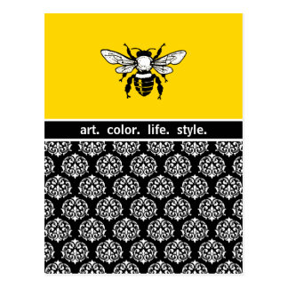 Honey Bee Custom Postcard