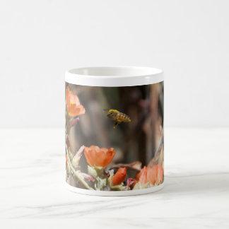 Honey Bee Desert Globe Mallow Arizona Mug