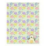 honey bee easter bunny rabbit custom letterhead
