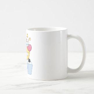 Honey Bee Flying With A Buckets Coffee Mug