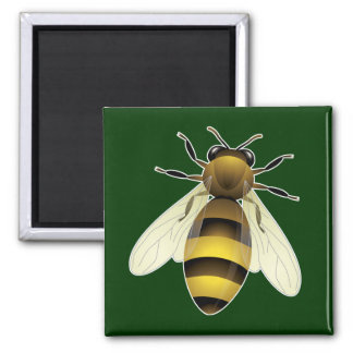 Honey Bee Fridge Magnet